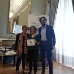 """Attestato di riconoscimento per """"Una storia amica del clima"""" conferito da Legambiente Campania Onlus"""