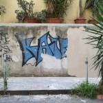 Preparazione muro ''Un Murale per Giancarlo Siani''