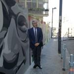 Inaugurazione ''Un Murale per Giancarlo Siani'': Intervista a Paolo Siani, fratello di Giancarlo e presidente fondazione Polis