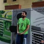 Inaugurazione ''Un Murale per Giancarlo Siani'': intervista a Salvatore Pope Velotti, direttore sviluppo INWARD