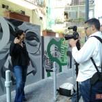 Inaugurazione ''Un Murale per Giancarlo Siani'': Intervista a Francesca Santagata, amica di Giancarlo