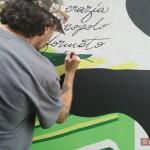 """""""Un Murale per Giancarlo Siani"""": Orticanoodles al lavoro"""