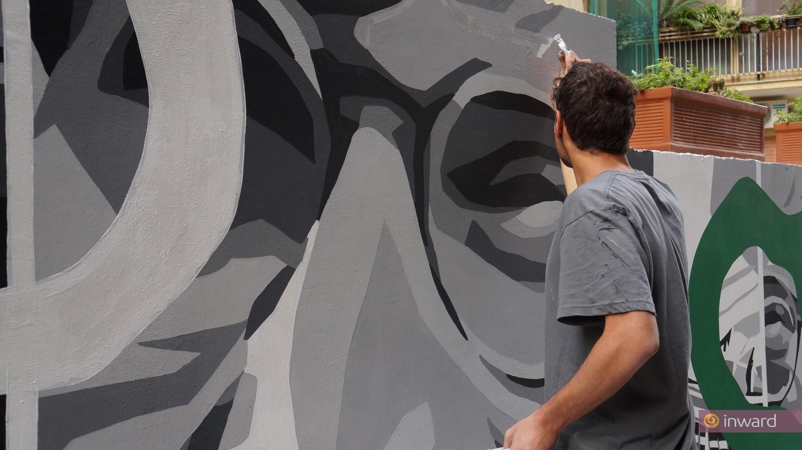 Un Murale per Giancarlo Siani