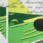 """""""Un Murale per Giancarlo Siani"""": dettaglio dell'opera"""
