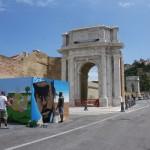 W3 per la Giornata Internazionale del Rifugiato ad Ancona, artisti a lavoro