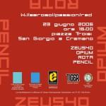 W3 a San Giorgio a Cremano, flyer