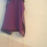 """""""Giovanni e Paolo"""". La targa ancora coperta e protetta da un drappo con i cordoncini, a sembianza della toga della magistratura di Cassazione"""