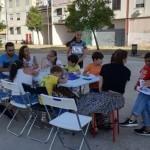 """""""'A Mamm' 'e Tutt' 'e Mamm'"""", i bambini del Parco dei Murales Ponticelli incontrano La Fille Bertha per condividere le loro idee sulla nuova opera"""