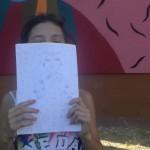 """""""'A Mamm' 'e Tutt' 'e Mamm'"""", Annamaria mostra il suo personalissimo disegno ispirato all'opera de La Fille Bertha"""