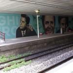 """""""Ricominciamo da qui"""", l'opera realizzata da Rosk&Loste a San Giorgio a Cremano"""