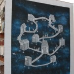 """""""Je sto vicino a te"""", l'opera realizzata al Parco dei Murales da Daniele Nitti"""