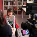 Fortuna racconta l'esperienza vissuta al Real Orto Botanico di Napoli alle telecamere di Rai Cultura