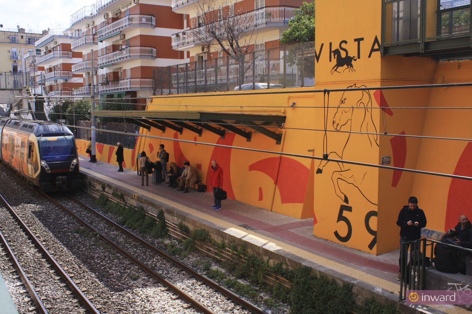 L'opera di Mattia Campo Dall'Orto a Portici