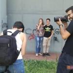 "Backstage opera  ""Cura 'e paure"" con l'artista Zeus40 e la fotografa Vasiliki Ioannou"