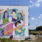 """Cura 'e paure"", l'opera firmata da Zeus40 al Parco dei Murales"