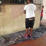 Laboratori di pittura, terza sessione