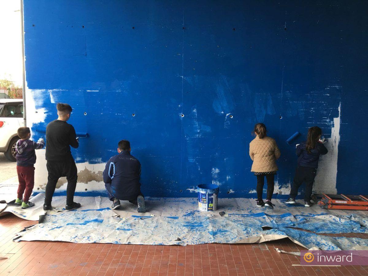 Laboratori di pittura al Parco dei Murales