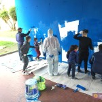Laboratori di pittura, prima sessione