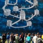 Street art tour al Parco dei Murales. Foto di Klaus Bunker