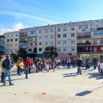 """Esibizione del """"Coro Mulan"""" al Parco dei Murales. Foto di Klaus Bunker"""