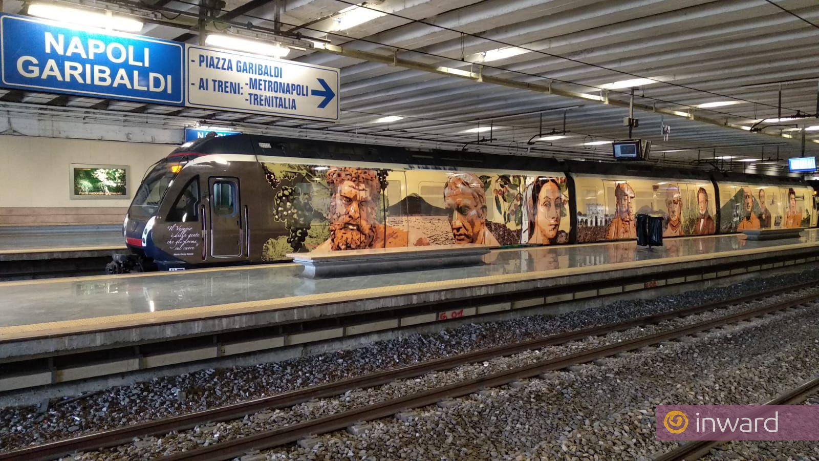 Livrea d'arte per i treni Eav