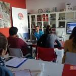 """""""Oculus – Giovani Operatori per la Creatività """": lezione in aula con Eduardo Suraci presso il Centro Territoriale per la Creatività Urbana a Napoli"""