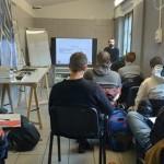 """""""Oculus – Giovani Operatori per la Creatività """": lezione in aula con Enrico Sironi in arte Hemo presso  Ink Club ARCI di Bergamo"""