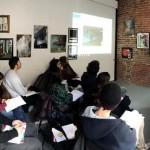 """""""Oculus – Giovani Operatori per la Creatività """": lezione in aula con Ruben Marchisio presso Docks74 Art Gallery di Torino"""