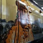 Livrea d'arte per i treni Eav realizzata da Mattia Campo Dall'Orto