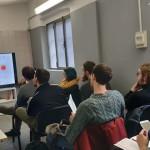 """""""Oculus – Giovani Operatori per la Creatività """": lezione in aula con Alessandro Minnino presso  Ink Club ARCI di Bergamo"""