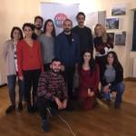 """""""Oculus – Giovani Operatori per la Creatività """": lezione in aula con Andrea Antoni presso il Polo Giovani Toti di Trieste"""
