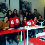 """""""Oculus – Giovani Operatori per la Creatività """": lezione in aula con Diego Fadda presso il Centro Territoriale per la Creatività Urbana a Napoli"""
