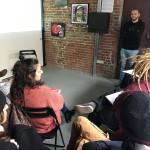 """""""Oculus – Giovani Operatori per la Creatività """": lezione in aula con Emanuele Ronco presso Docks74 Art Gallery di Torino"""