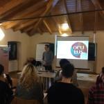 """""""Oculus – Giovani Operatori per la Creatività """": lezione in aula con Francesco Patat presso il Polo Giovani Toti di Trieste"""