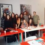 """""""Oculus – Giovani Operatori per la Creatività """": lezione in aula con Mauro Italiano presso il Centro Territoriale per la Creatività Urbana a Napoli"""