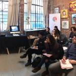"""""""Oculus – Giovani Operatori per la Creatività """": lezione in aula con Dado Ferri presso Docks74 Art Gallery di Torino"""