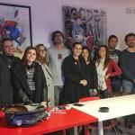 """""""Oculus – Giovani Operatori per la Creatività """": lezione in aula con Pietro Rivasi presso il Centro Territoriale per la Creatività Urbana a Napoli"""
