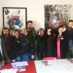 """""""Oculus – Giovani Operatori per la Creatività """": lezione in aula con Monica Caputo presso il Centro Territoriale per la Creatività Urbana a Napoli"""