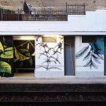 """""""Acido solforico"""": l'opera di Fabio Petani alla stazione di Dazio"""