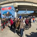 L'opera di Naf-Mk alla stazione di Pratola Ponte: inaugurazione
