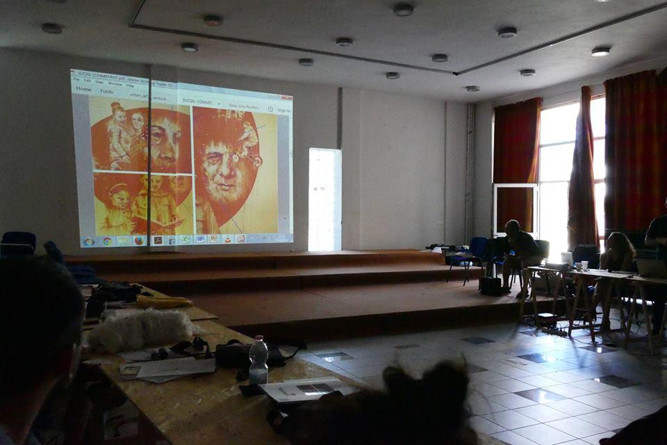 Inward in Grecia per Urban Art Ventures