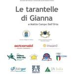 """""""Le tarantelle di Gianna"""": la targa"""
