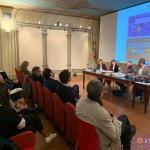Da destra: Luca Borriello, direttore ricerca INWARD; Luigi Vergallo, Fondazione Giangiacomo Feltrinelli; Comune di Ravenna; Lavazza