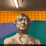 """""""Labes"""": l'opera di Biodpì alla stazione Vesuvio De Meis. Dettaglio"""