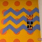 """""""Labes"""": l'opera di Biodpì alla stazione Vesuvio De Meis. Firma dell'artista."""