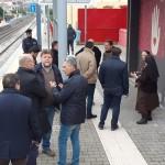 """""""Mane e mane"""": l'opera di Raro alla stazione di Santa Maria del Pozzo. Inaugurazione."""