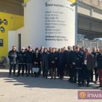 """""""Fides, Spes et Caritas"""": inaugurazione dell'opera di IABO alla stazione EAV di Brusciano"""