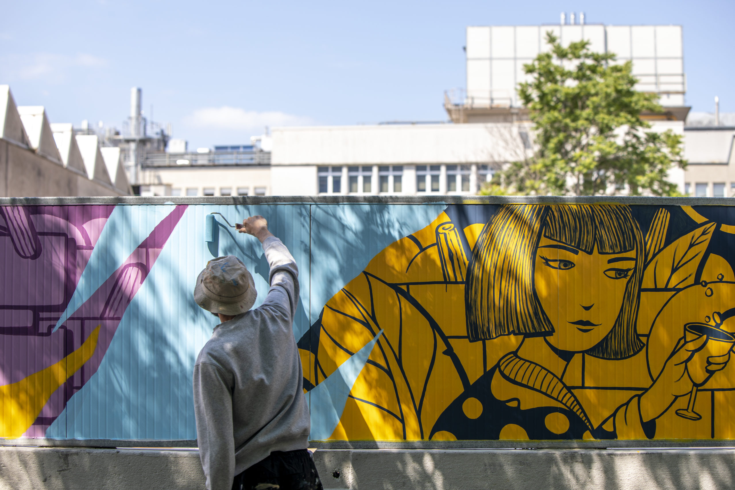 Un intervento di SeaCreative a Milano