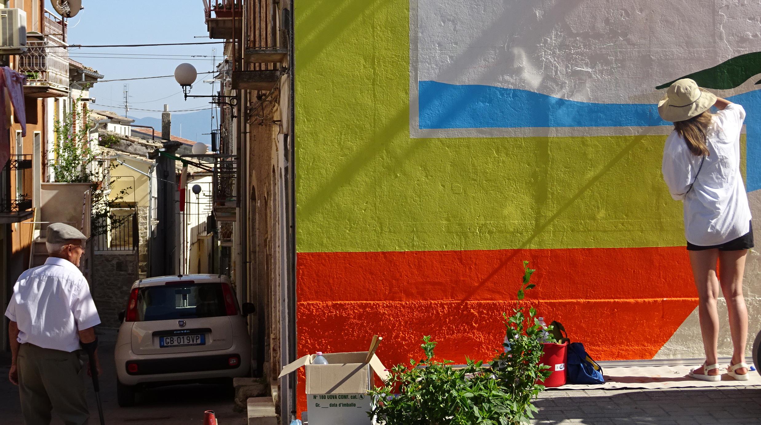 #HollandMe: l'opera di Maaike Canne a Santa Croce di Magliano